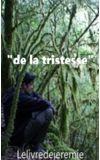"""Image de couverture de Réponse à """"de la tristesse"""""""