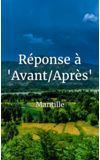 """Image de couverture de Réponse à """"Avant/Après"""""""