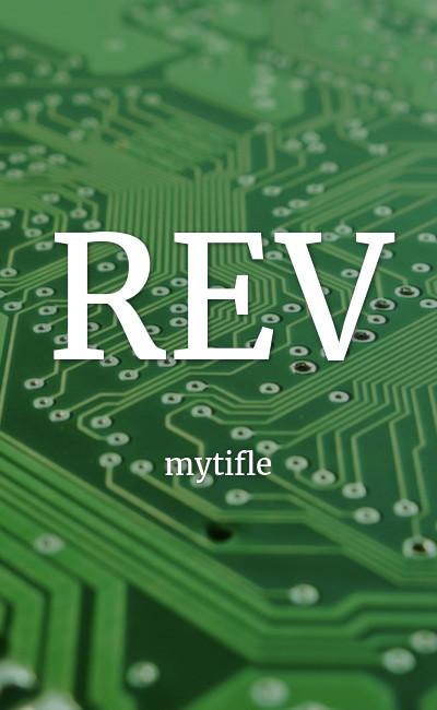 Image de couverture de REV
