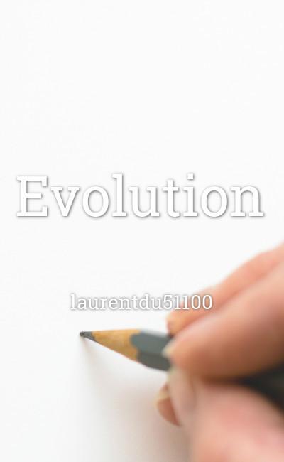 Image de couverture de Evolution