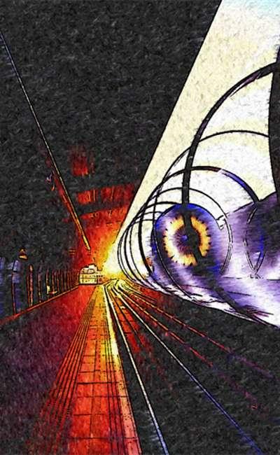 Image de couverture de Hyperloop, échec a très grande vitesse.