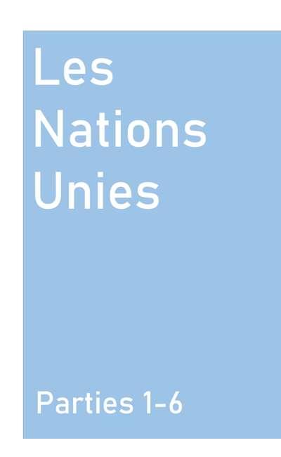 Image de couverture de Les Nations Unies