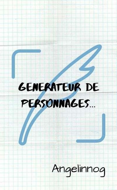 Image de couverture de Générateur de personnages