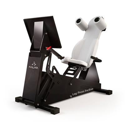 Exercise equipment 5545 Leg Press Incline Rehab HUR Gym