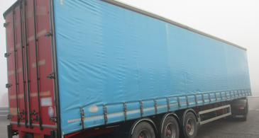 25X Ld Curtainsider Used Trailer