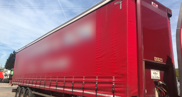 M18501 Used Sdc Curtainside Trailers 1
