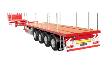 Sdc 4 Axle Extendible Platform