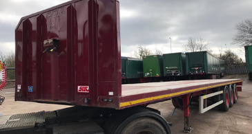 Sdc Used Platform Trailer M17880 Sdc Used Trailers 1