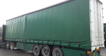 Sdc Used Trailers M10098 Used Mg Curtainsider 1