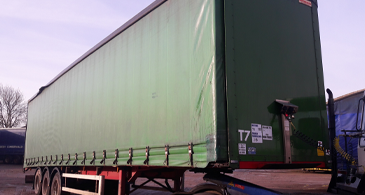 Sdc Used Trailers M14709 Used Montracon Curtainsider 1