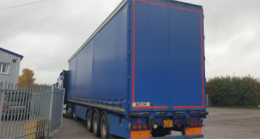 Sdc Used Trailers Used Curtainsider Trailer M18827