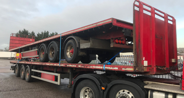 Sdc Used Trailers Used Platform Trailer M18850 1