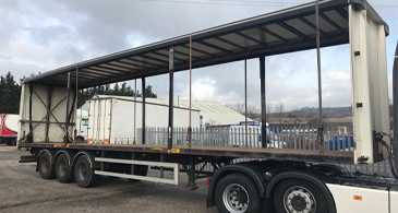 Used Sdc Curtainsider M17882 Used Curtainsider Trailer 1