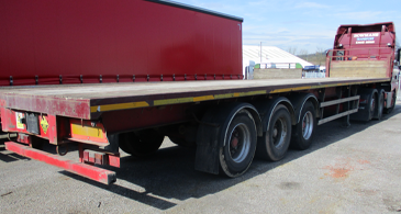 Used Sdc Platfor Trailer M17888 Used Trailer 1