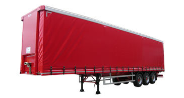 Red Curtainsider