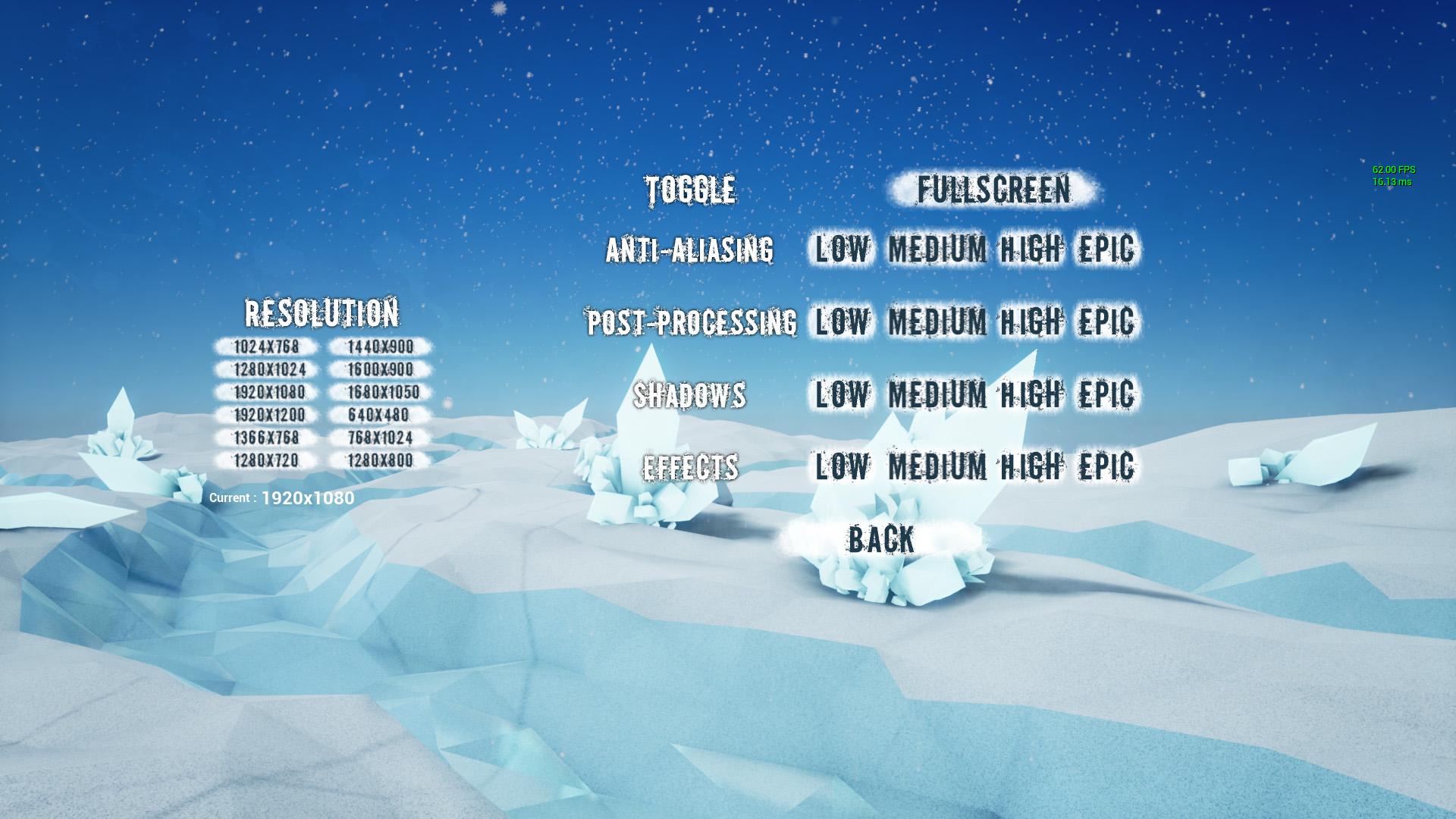 Cette interface UMG a été créée avec mon ami artiste Lionnel NICOLAS lors d'une Game Jam !