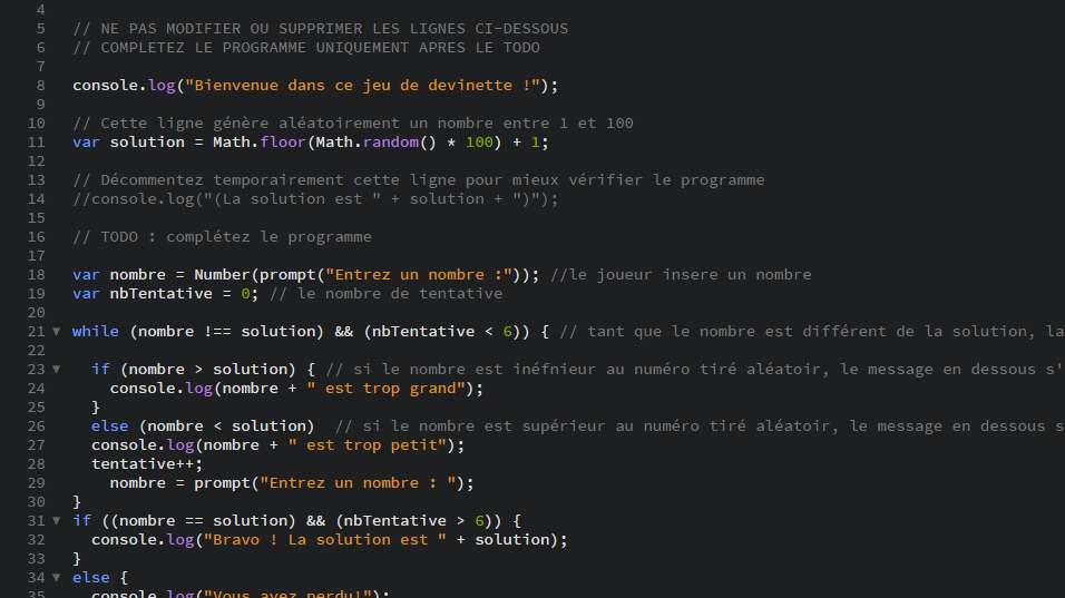 Resolu Probleme Activite 1 Cour Javascript Par Davycatteeuw