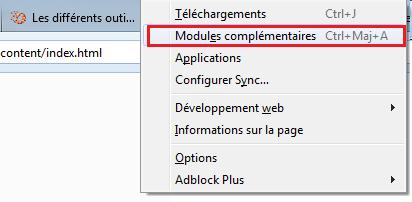 Modules complémentaires