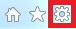 L'icône de l'onglet Outils.