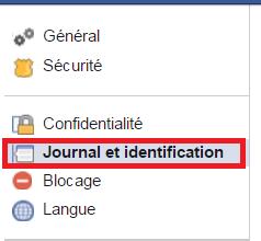 Journal et identification