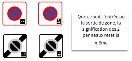 Stationnement payant ou gratuit contr l par disque code for Garage de la zone