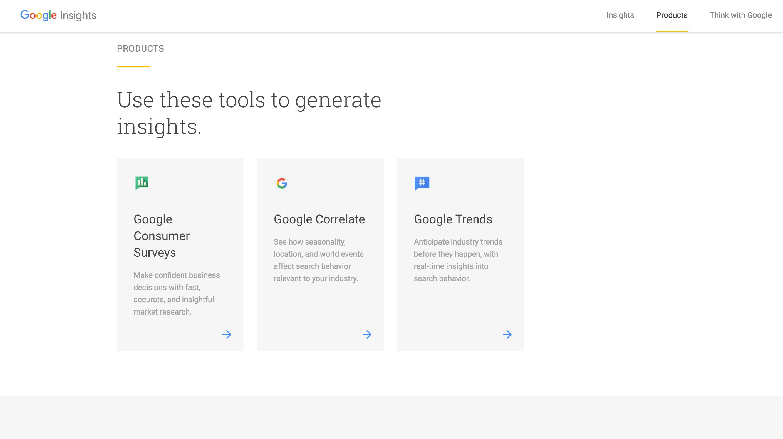 Les produits Google, une véritable mine d'informations !