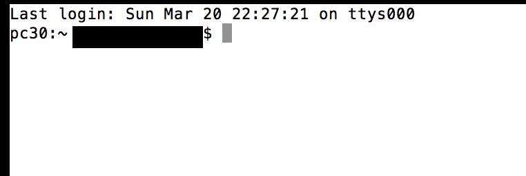 how to open terminal macbook pro