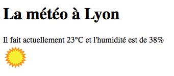 Qui a dit qu'il ne faisait pas beau à Lyon ?