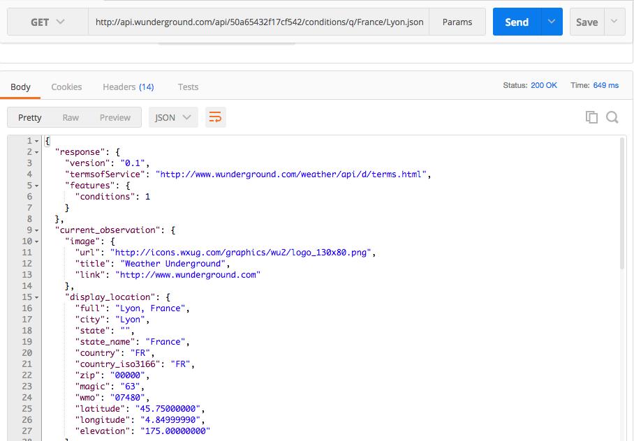 Utilisez des API web - Créez des pages web interactives avec