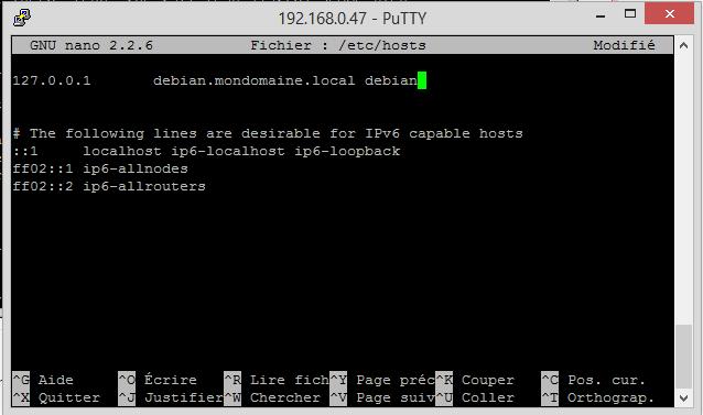 fichier hosts