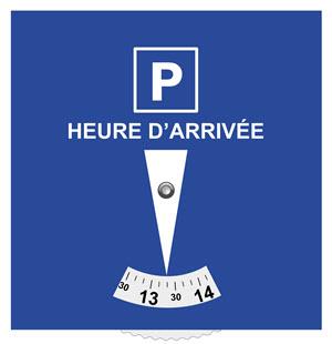 stationnement payant ou gratuit contr l par disque code de la route 1 la circulation