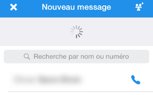 Ce contact utilise Signal ou RedPhone.