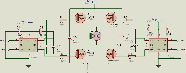 arduino pont en h mosfet par danystar openclassrooms led wiring diagram image led wiring diagram for tube