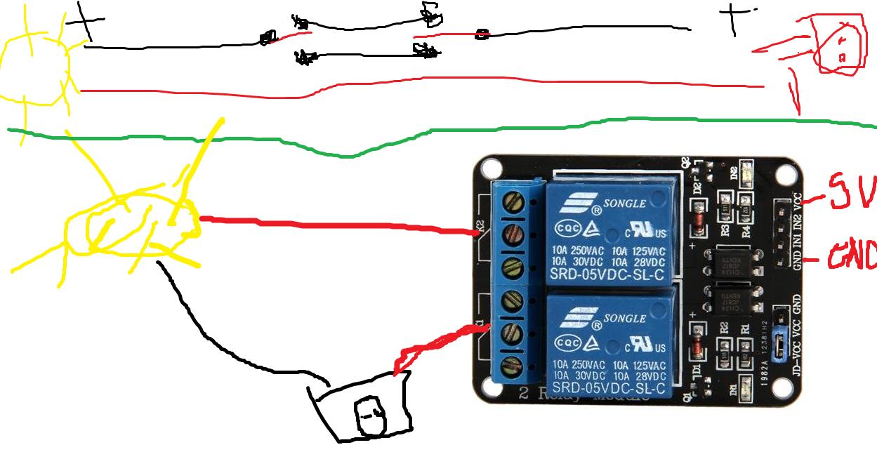 Comment pouvez-vous brancher un commutateur de relais