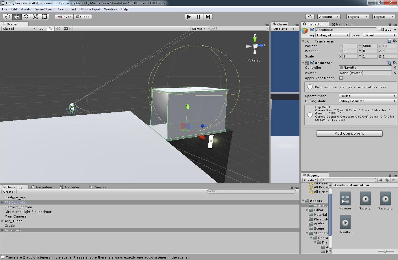 Unity3D] Problème de collision par techb56 - OpenClassrooms