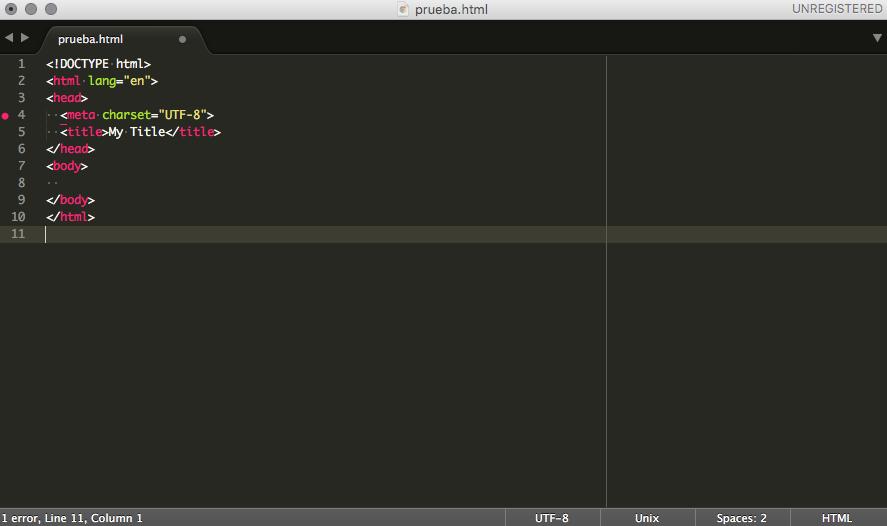 Página 3 De 5: Vuestra Primera Página Web En HTML