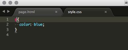 Archivos HTML y CSS en Notepad++
