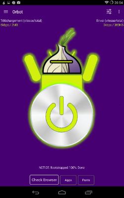 Connexion réussie au réseau Tor