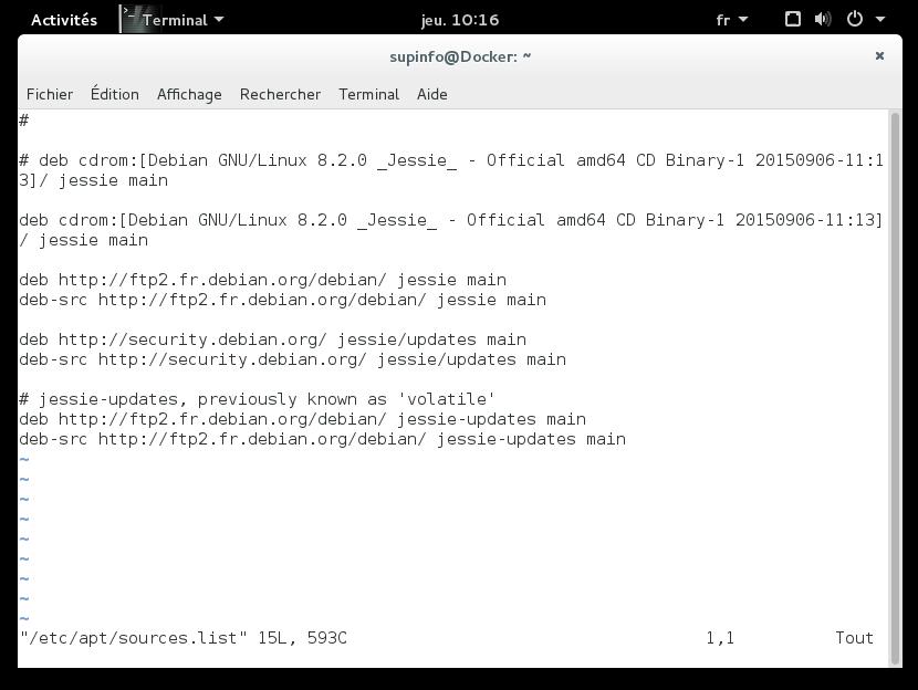 Résolu] Docker.io Une installation fastidieuse ! par Rubyx ...