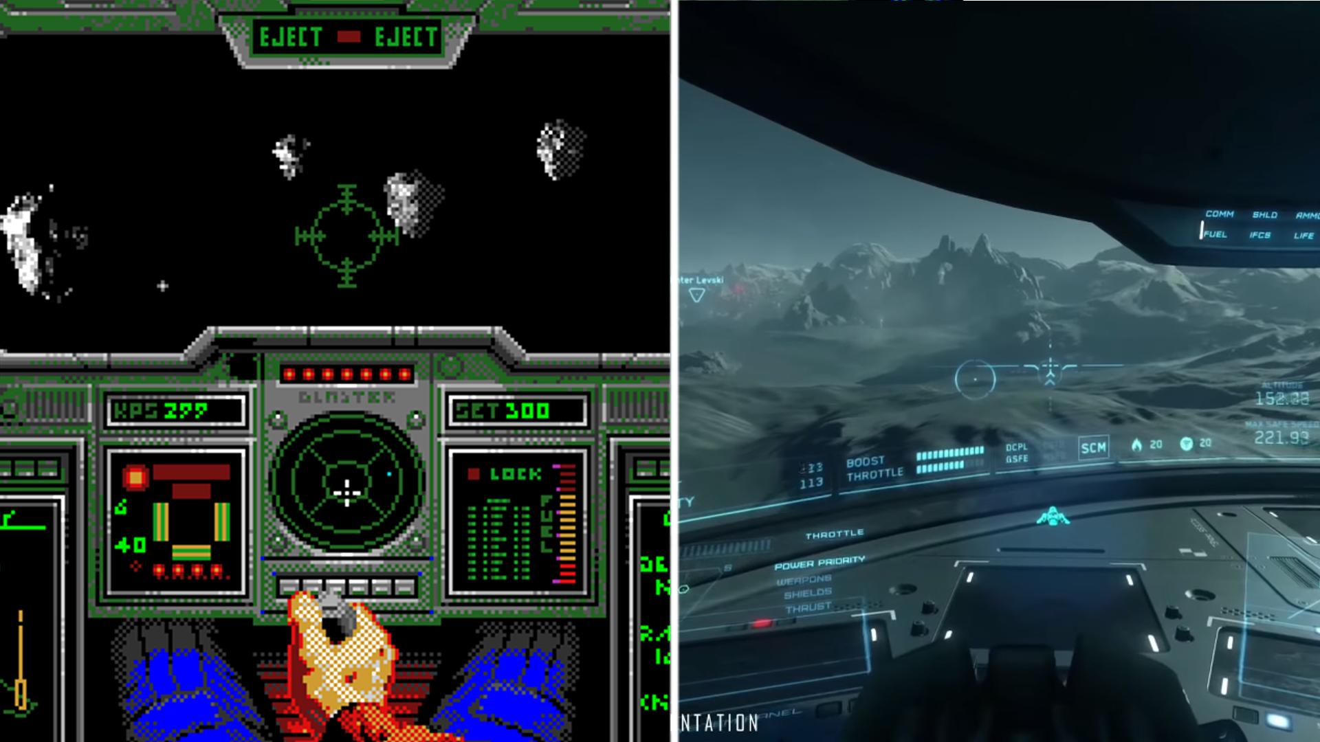 Star Commander et Star Citizen : un même jeu, deux époques