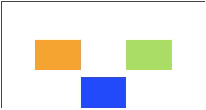 Un élément aligné différemment avec align-self