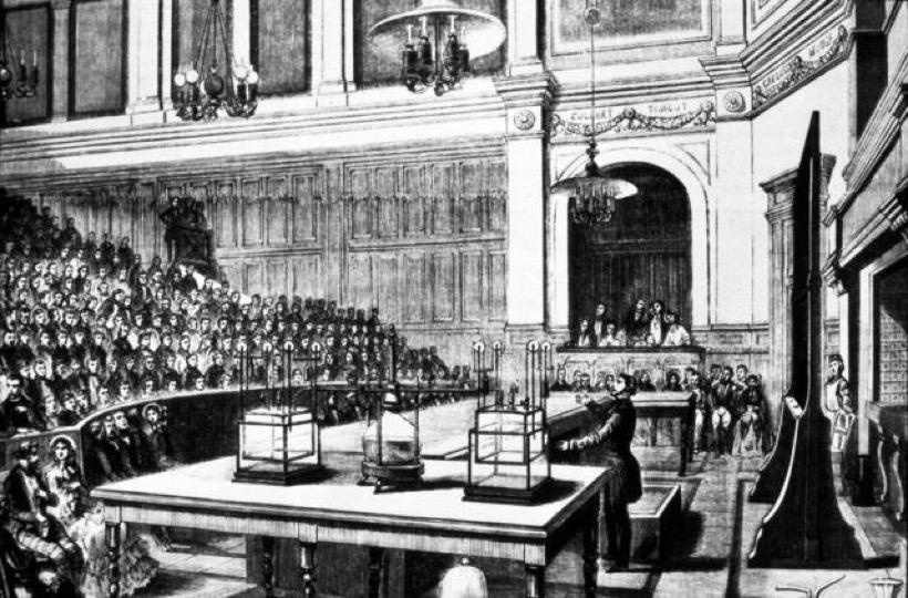 Arts et Métiers classroom - Mid-1800s