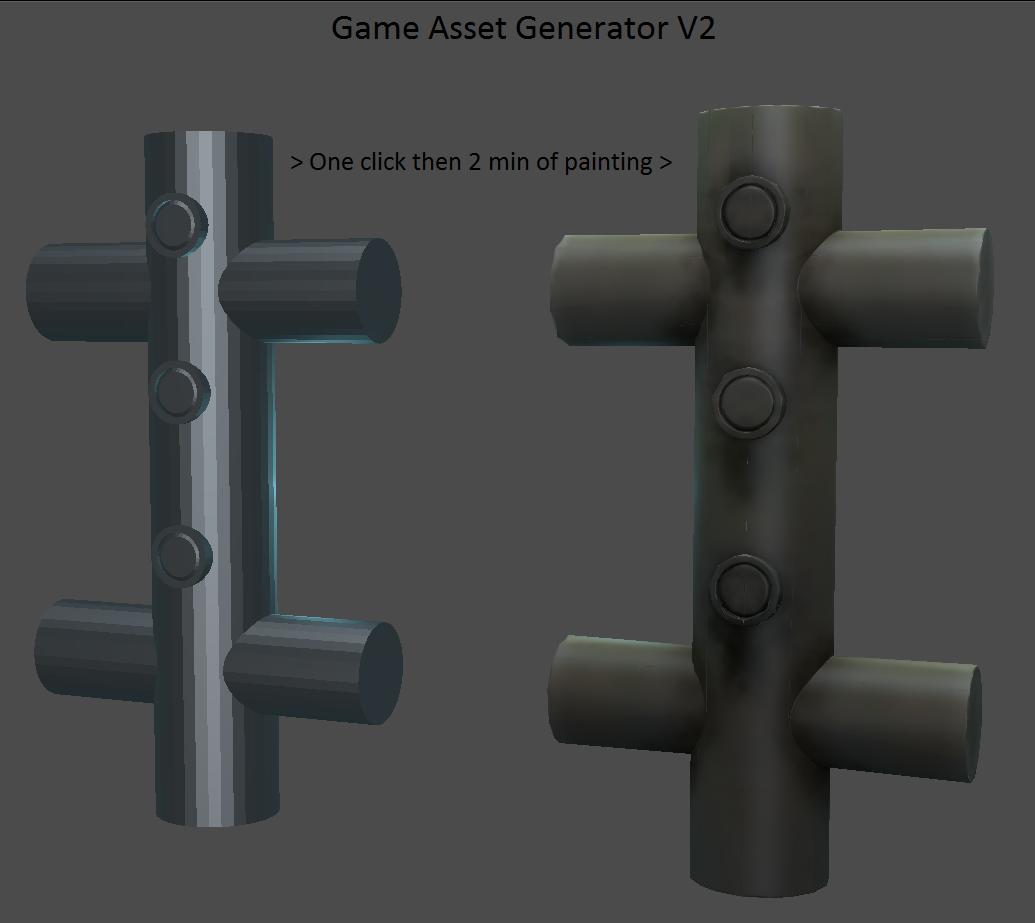 AssetGen - un addon pour la création d'assets 3D