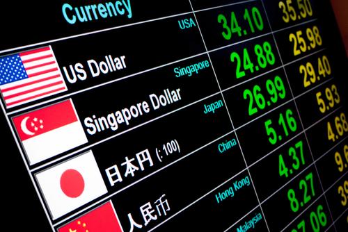 Chaque monnaie se convertit dans d'autres monnaies à un prix différent
