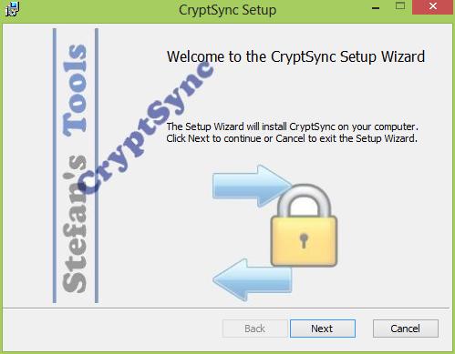 Cryptsync installation
