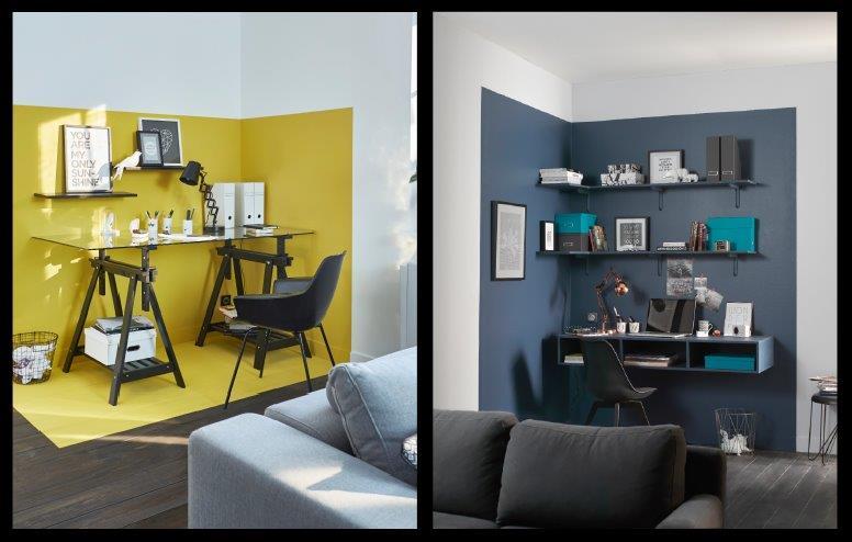 Délimiter des espaces avec la couleur