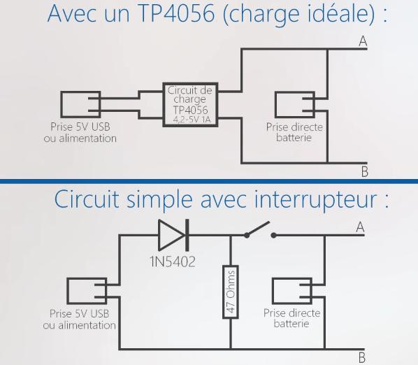 Célèbre Résolu] Création d'une batterie externe au Lithium ion par  FD98