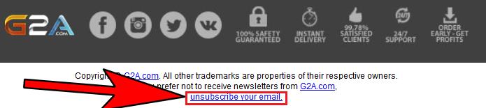 Un e-mail publicitaire n'est pas considéré comme du spam si il comporte un lien permettant de se désinscrire facilement du programme