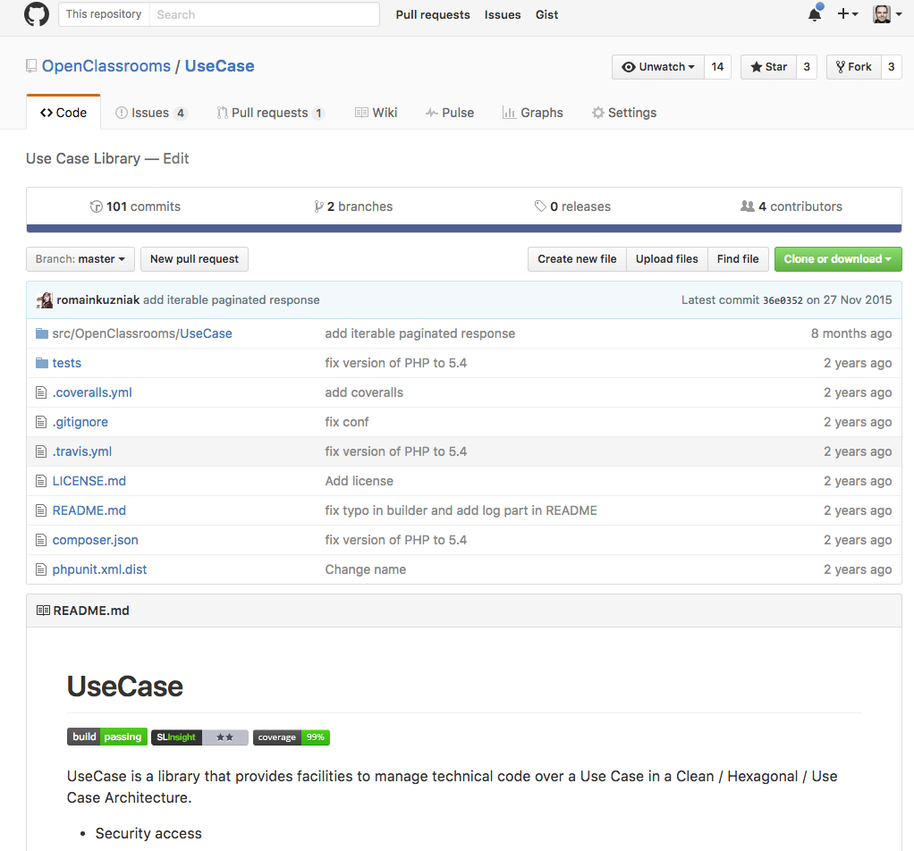 GitHub hosts our code. This is also where new code gets validated before going live.