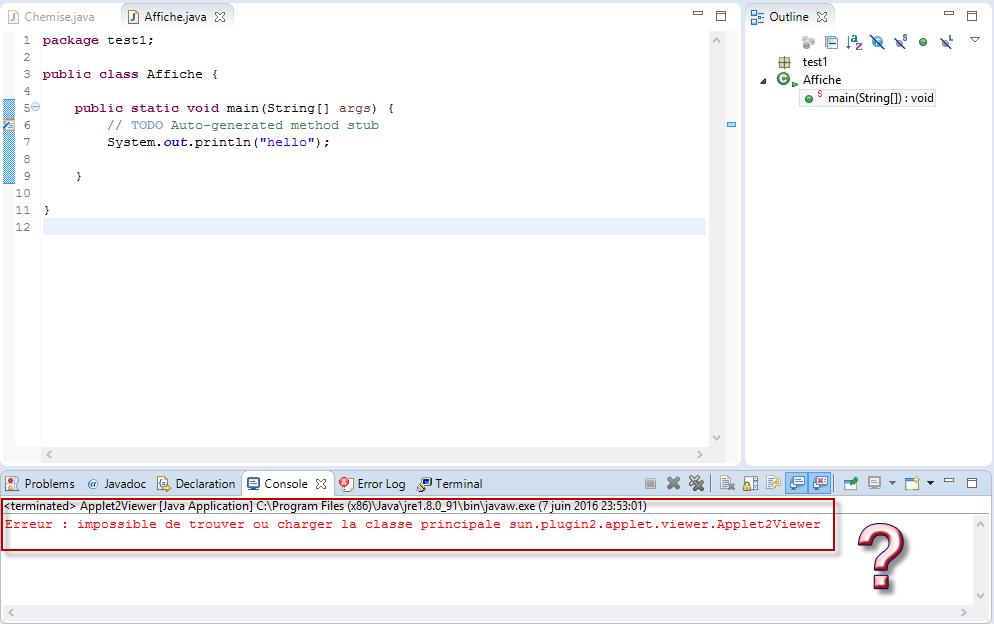 Configuration Of Jre Par Mahmoudjerbi Page 1 Openclassrooms